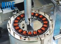 Auto 18 Slots Electric Stator Coil Winding Machine Customized Color 380V Voltage