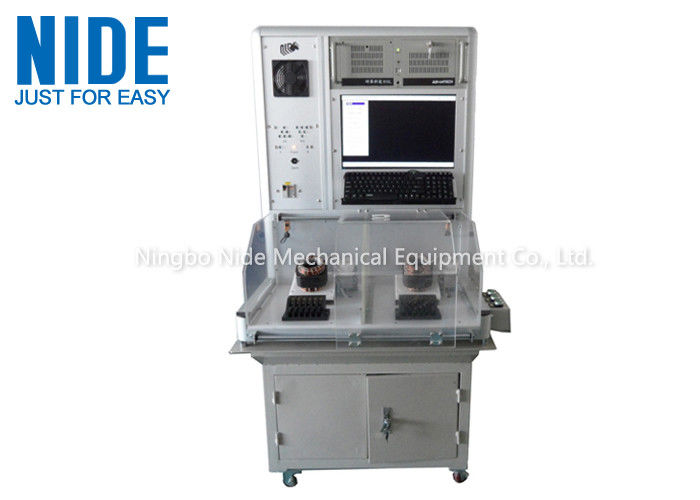 Air Conditioner Motor Testing Equipment Computer Control With Double Stations