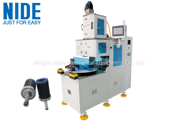 Compressor Stator Motor Winding Machine 380v Automatic Vertical Type