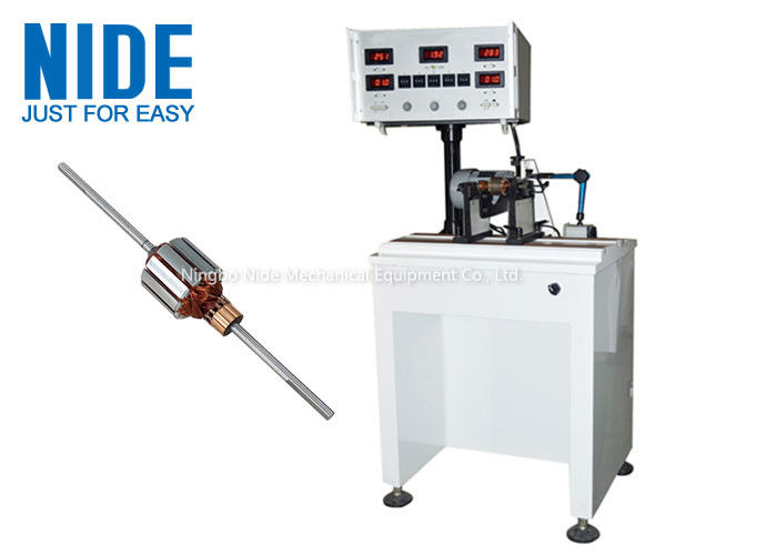 Weight Added Rotor Balancing Machine Automatic Positioning For Motor Rotors