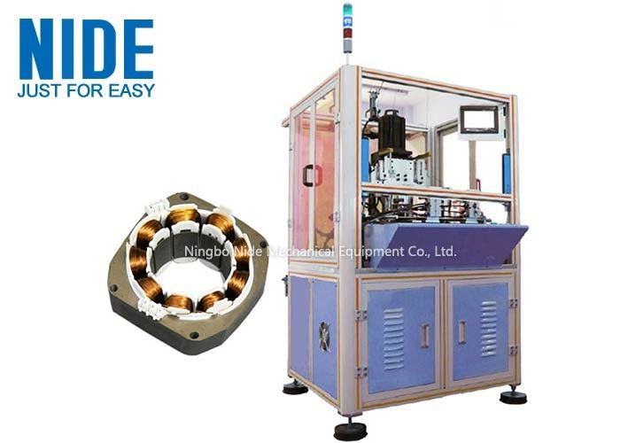 Inner Winder Electric Motor Winding Machine High Automation For Brushless Motor