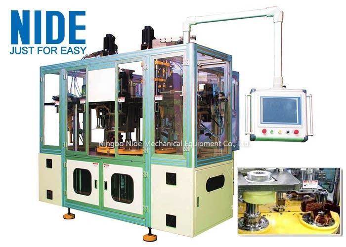 Ipad Operaion 3 Phase Motor Winding Machine Three Station Middle Type