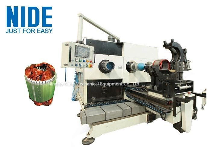 CCC Certificate Coil Inserting Machine , Expanding And Stator Winding Equipment