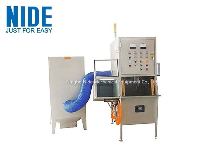 Automatic Electirc Motor Powder Coating Machine Customized Color