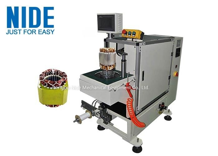 High Automation Stator Coil Winding Lacer Single Working Station