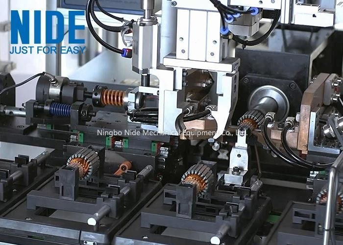 Automatic Power Tool Motor Production Line Motor Armature Winding Machine