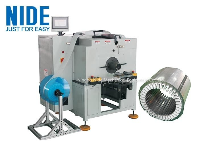 Automatic deep water pump horizontal Stator Paper Insertion Machine for inserting insulation paper