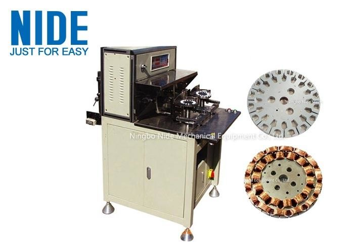 Fast Automatic Coil Winding Machines More Efficent , Table Fan Stator Winding Machines