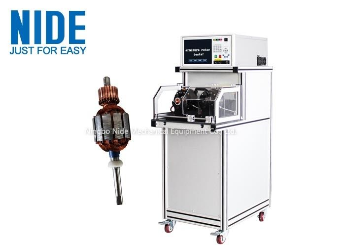 DC Motor Two Stations Armature Testing Machine