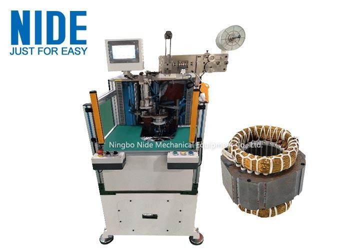 Fully automatic double sides Electric Motor Stator Coil Lacing Machines